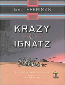 "Krazy and Ignatz, 1943-1944: ""He Nods in Quiescent Siesta"" (Krazy Kat) [Repost]"