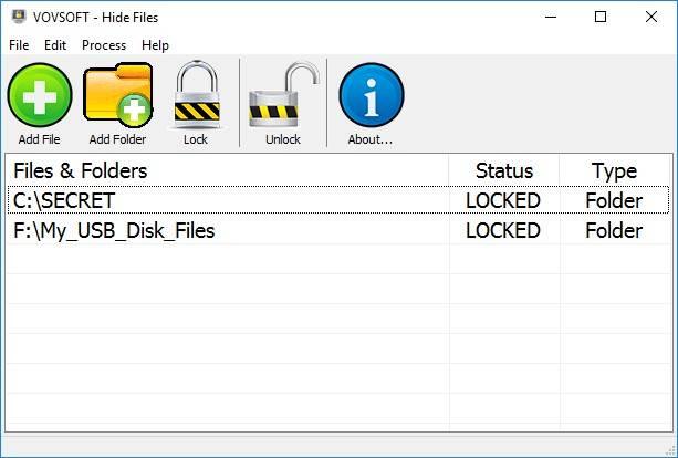 VovSoft Hide Files 5.4 Multilingual