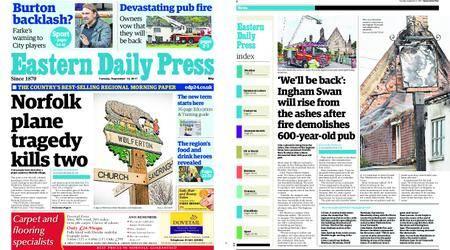 Eastern Daily Press – September 12, 2017
