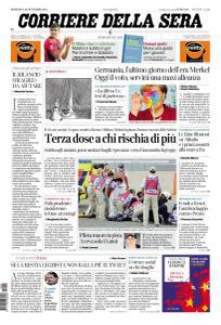Corriere della Sera - 26 Settembre 2021