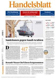 Handelsblatt - 20. November 2018