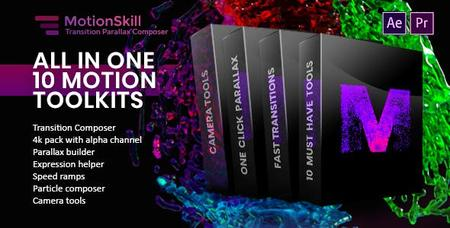 All in One Motion, Transition, Parallax, Expression ToolKit - Presets for After Effects (VideoHive)
