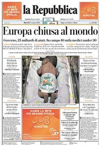 la Repubblica - 17 Marzo 2020