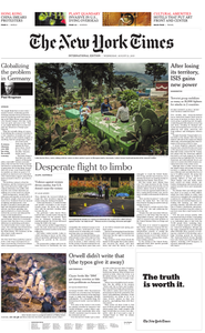 International New York Times - 21 August 2019
