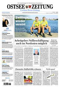 Ostsee Zeitung Wolgast - 28. August 2018