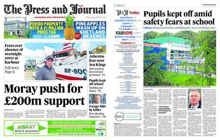 The Press and Journal Moray – August 28, 2018