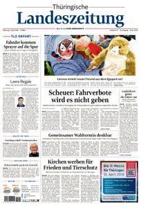 Thüringische Landeszeitung Erfurt - 03. April 2018