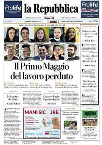 la Repubblica - 1 Maggio 2020