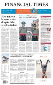 Financial Times Middle East - June 15, 2020