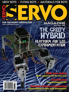 Servo Magazine September 2009