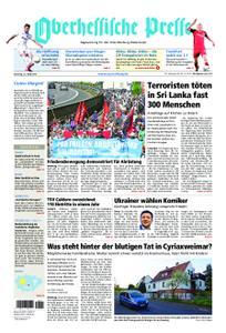 Oberhessische Presse Marburg/Ostkreis - 23. April 2019