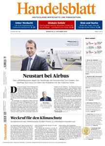 Handelsblatt - 09. Oktober 2018
