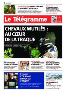 Le Télégramme Auray – 16 septembre 2020