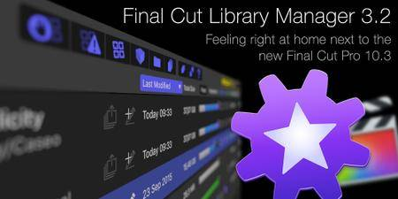 Final Cut Library Manager 3.23 Mac OS X