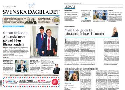 Svenska Dagbladet – 28 september 2018