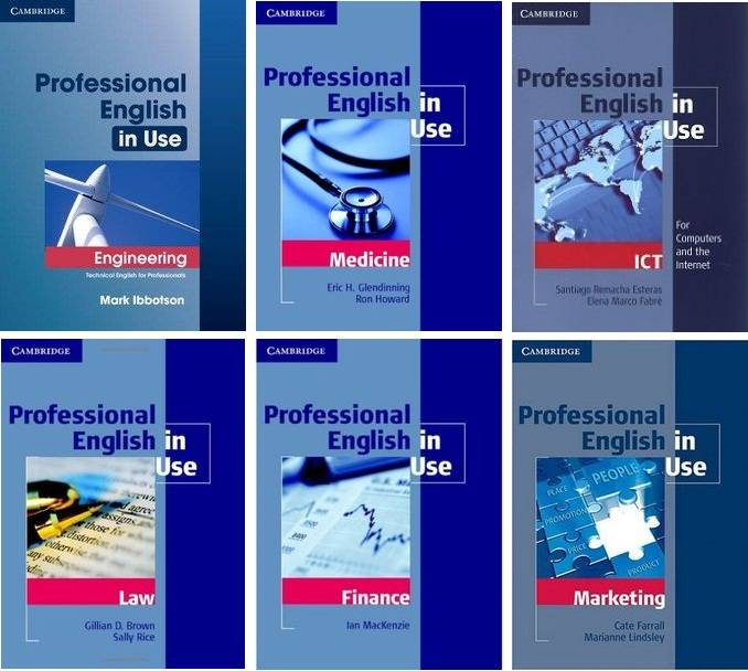 Professional English in Use Series
