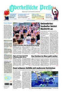 Oberhessische Presse Marburg/Ostkreis - 02. Juli 2018