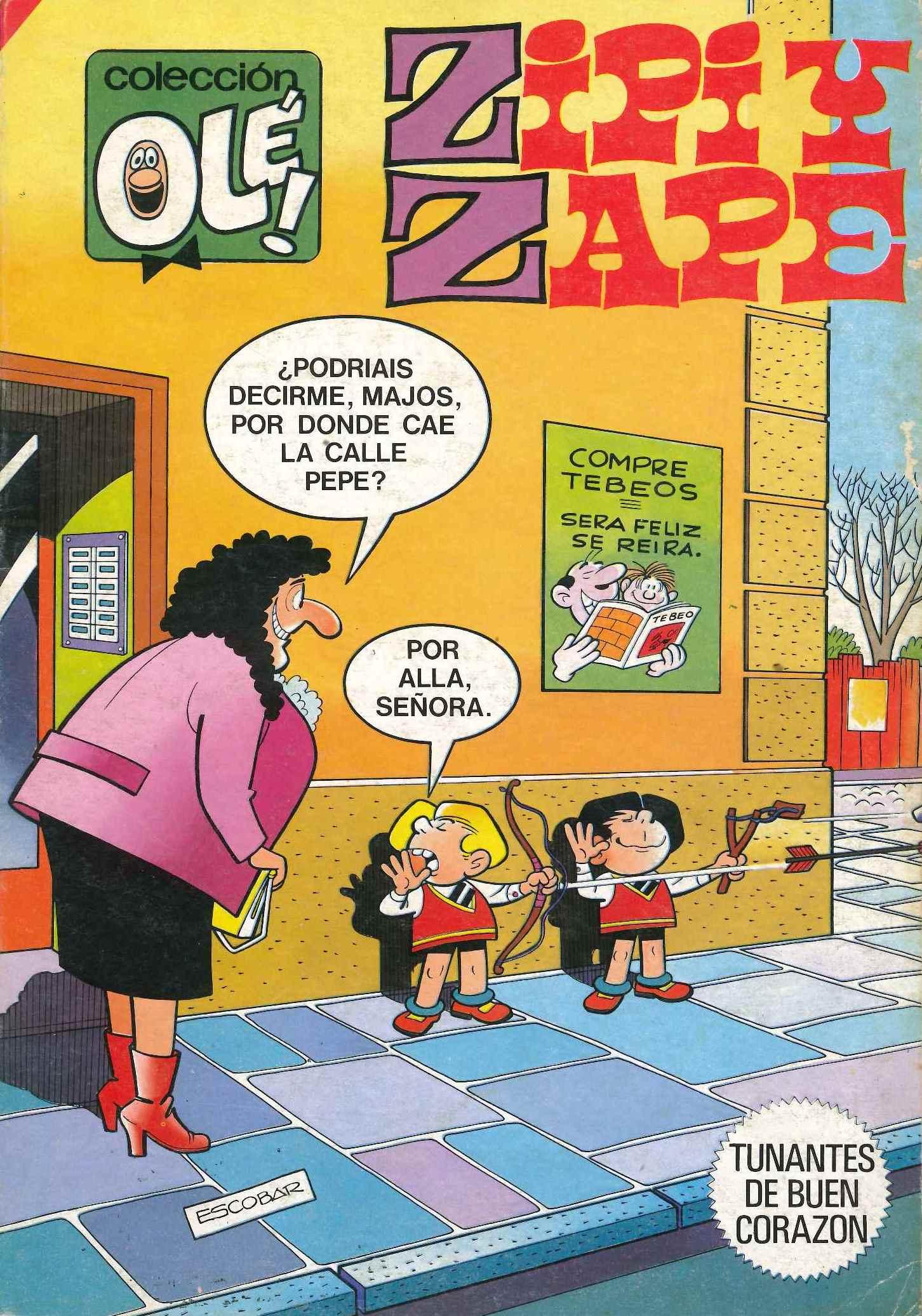Colección Olé! 301 - Zipi y Zape. Tunantes de buen corazón