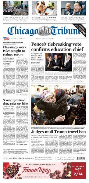 Chicago Tribune - February 8, 2017