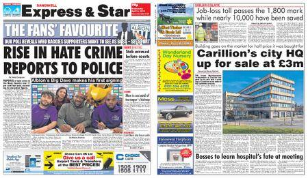 Express and Star Sandwell Edition – April 04, 2018