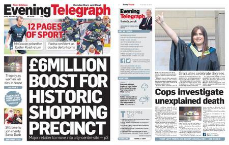 Evening Telegraph First Edition – November 23, 2018