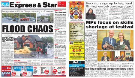 Express and Star City Edition – April 27, 2018