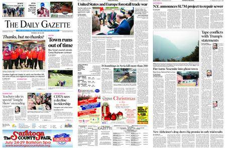 The Daily Gazette – July 26, 2018