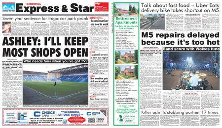 Express and Star Sandwell Edition – August 15, 2018
