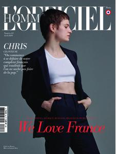 L'Officiel Hommes Paris - avril 2019