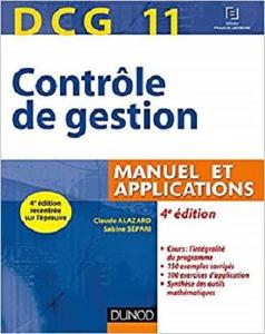 DCG 11 - Controle de gestion - 4e ed. - Manuel et applications [Repost]
