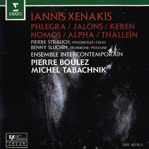 Ensemble Intercontemporain, Boulez, Tabachnik - Iannis Xenakis: Phlegra; Jalons; Keren; Nomos; Alpha; Thallein (1992)