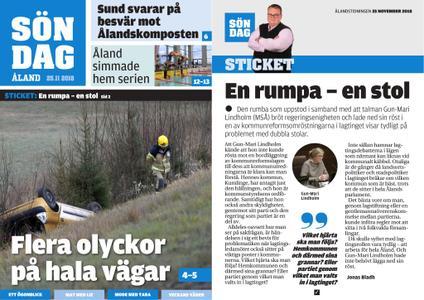 Ålandstidningen – 25 november 2018