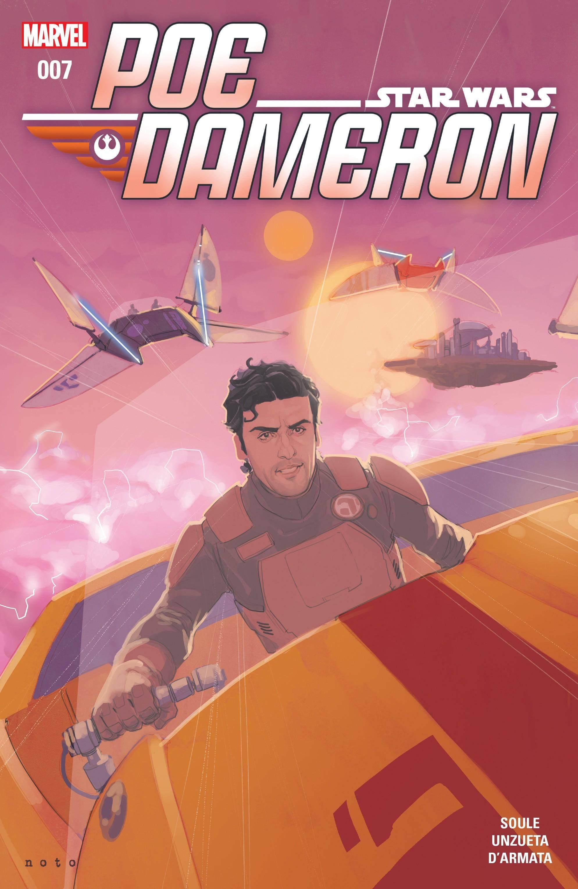 Poe Dameron 007 2016
