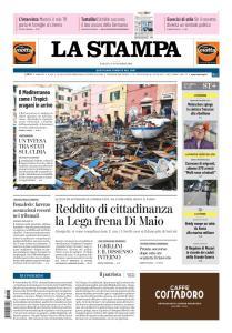 La Stampa Imperia e Sanremo - 3 Novembre 2018