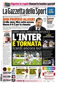 La Gazzetta dello Sport Roma – 22 febbraio 2019