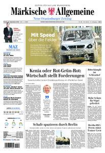 Neue Oranienburger Zeitung - 16. September 2019