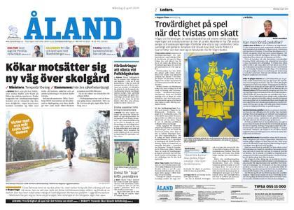 Ålandstidningen – 08 april 2019