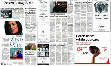 The Boston Globe – October 15, 2017