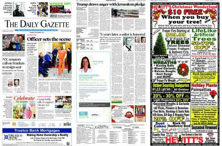 The Daily Gazette – December 07, 2017