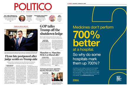 Politico – December 19, 2018