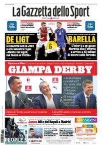 La Gazzetta dello Sport – 09 luglio 2019