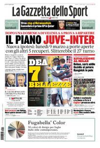 La Gazzetta dello Sport Roma – 02 marzo 2020