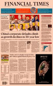 Financial Times Europe – 27 December 2019