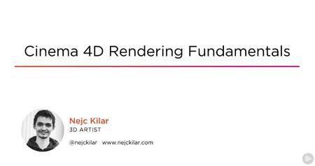 Cinema 4D Rendering Fundamentals
