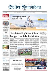 Sylter Rundschau - 30. April 2019