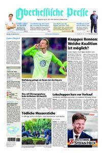 Oberhessische Presse Marburg/Ostkreis - 23. September 2017