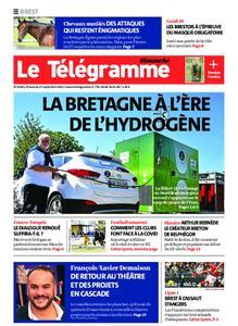 Le Télégramme Brest Abers Iroise – 27 septembre 2020