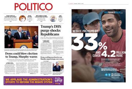Politico – April 09, 2019