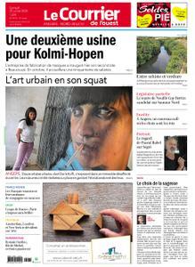 Le Courrier de l'Ouest Angers – 25 juillet 2020