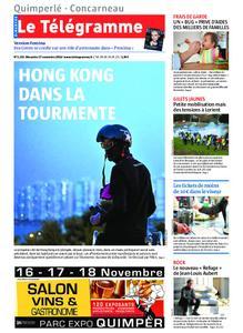 Le Télégramme Concarneau – 17 novembre 2019